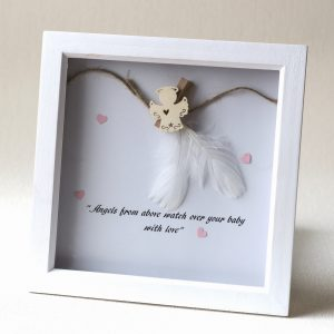 Feather Baby Frame 1830