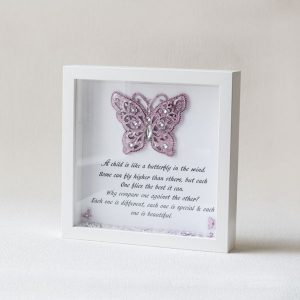 childs butterfly frame